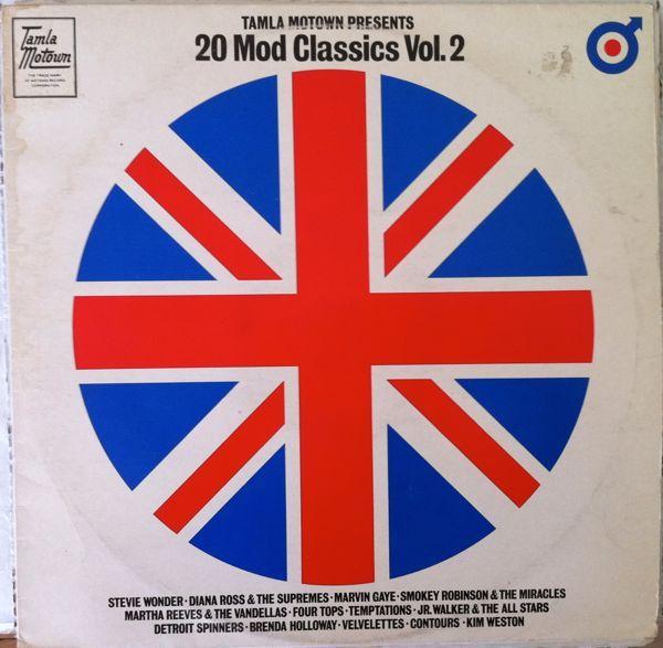 VARIOUS - Tamla Motown Presents 20 Mod Classics Vol. 2 (Tamla Motown STML 12133) click to see the tracklist. Vinyl | Music