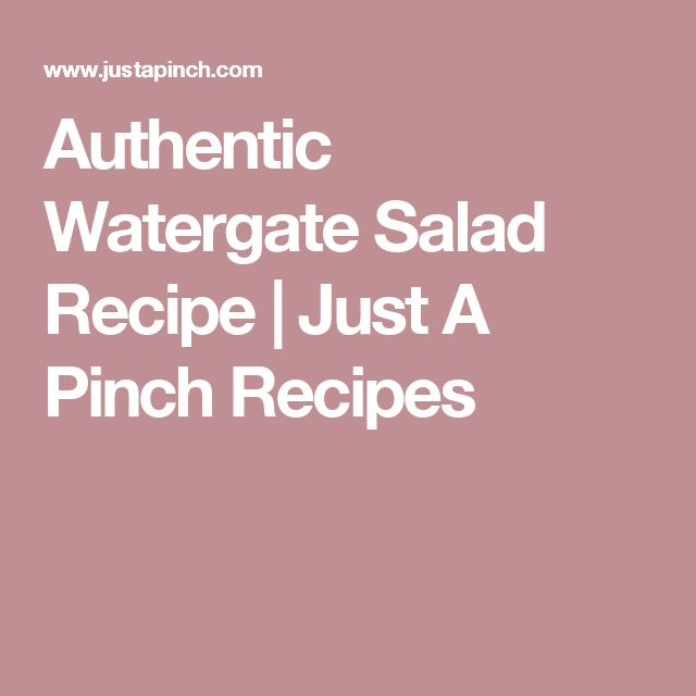 Authentic Watergate Salad Recipe   Just A Pinch Recipes