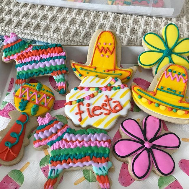 Come on over in your #burro playing your #maracas and don't forget your #sombrero as we #fiesta en America ! #pastry #mrschonchisedibles #specialeventsinlife #galletas #montereylocals #salinaslocals- posted by carmen munoz https://www.instagram.com/mrschonchisedibles - See more of Salinas, CA at http://salinaslocals.com