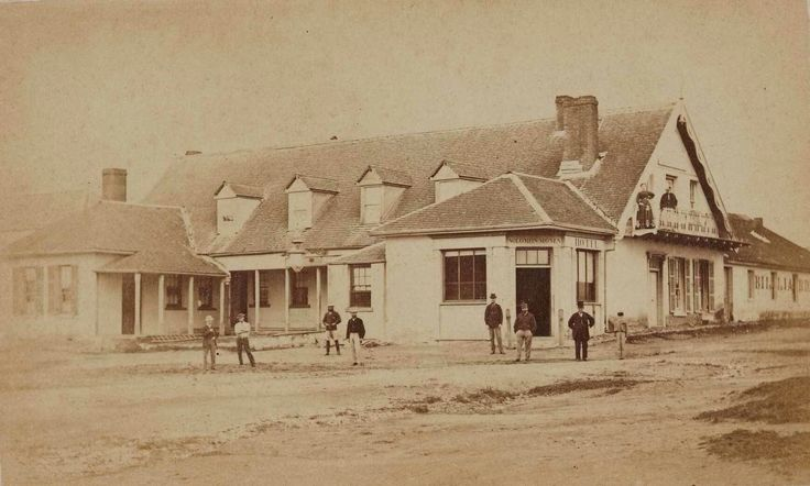 Doncaster Inn at Braidwood,New South Wales in 1870.    🌹