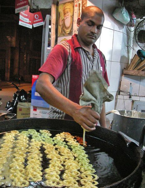 Cook Street Food in Chile