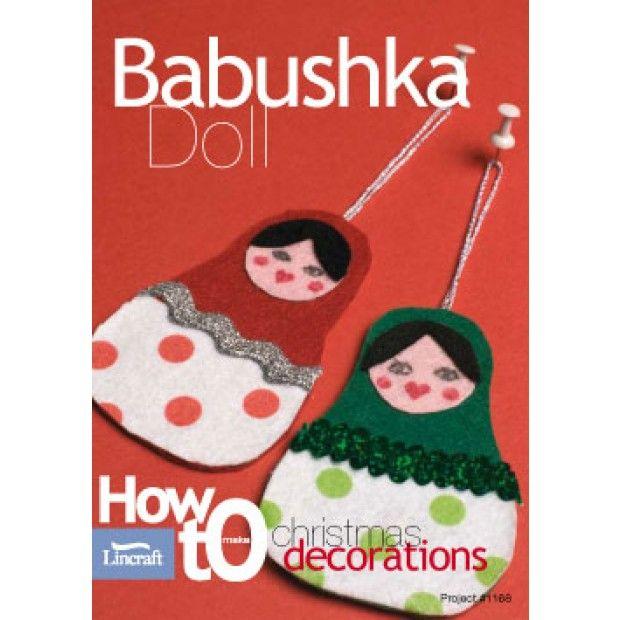 Christmas Babushka Doll Decoration-