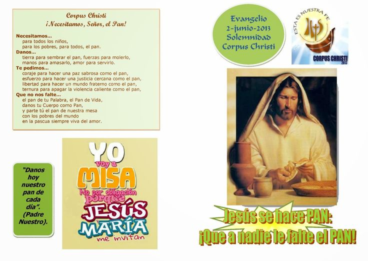 PARROQUIA SAN XOÁN DE FORNELOS: CORPUS CHRISTI (Secretariado de Catequese de Galiz...