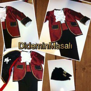 Didem'in Masalı Korsan kostümü, doğum günü elbiseleri, doğum günü kıyafetleri, Korsan kostümü