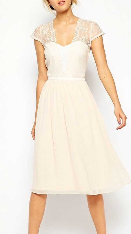 so many occasions for this dress- wedding rehearsal, bridesmaids, etc.