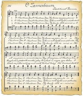 Free Vintage Christmas sheet music
