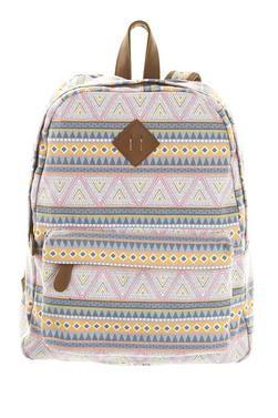 R & K Aztec Backpack