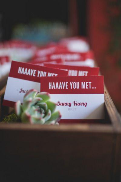 How I Met Your Mother inspired wedding: http://www.stylemepretty.com/california-weddings/los-angeles/2014/05/03/how-i-met-your-mother-inspired-wedding-at-the-smog-shoppe/ | Photography: http://www.floatawaystudios.com/