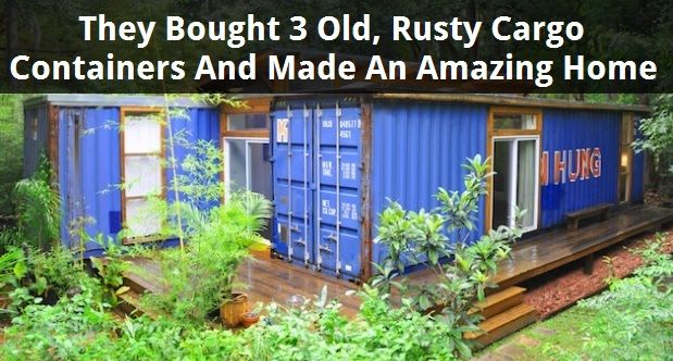 This Rusty Shipping Container Seems Abandoned. But Look Inside…It's Actually A Ravishing Home!