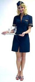 Faschingskostüm Stewardess