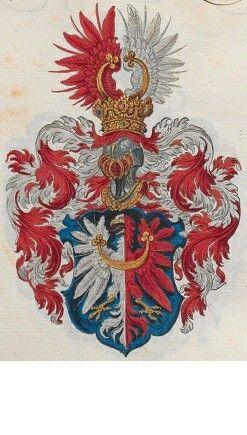 Wappen derer Kolowrat Krakowsky / Coat of Arms of The Family von Kolowrat Krakowsky / Armas de la Familia von Kolowrat Krakowsky