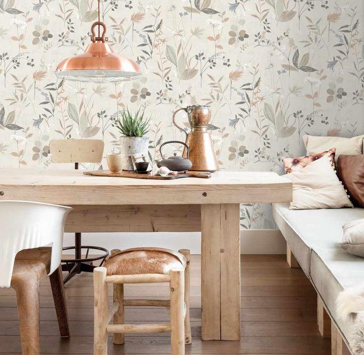 Inspirerande matrum med tapet från kollektionen Inspiration 17544. Klicka för att se fler tapeter för ditt hem!