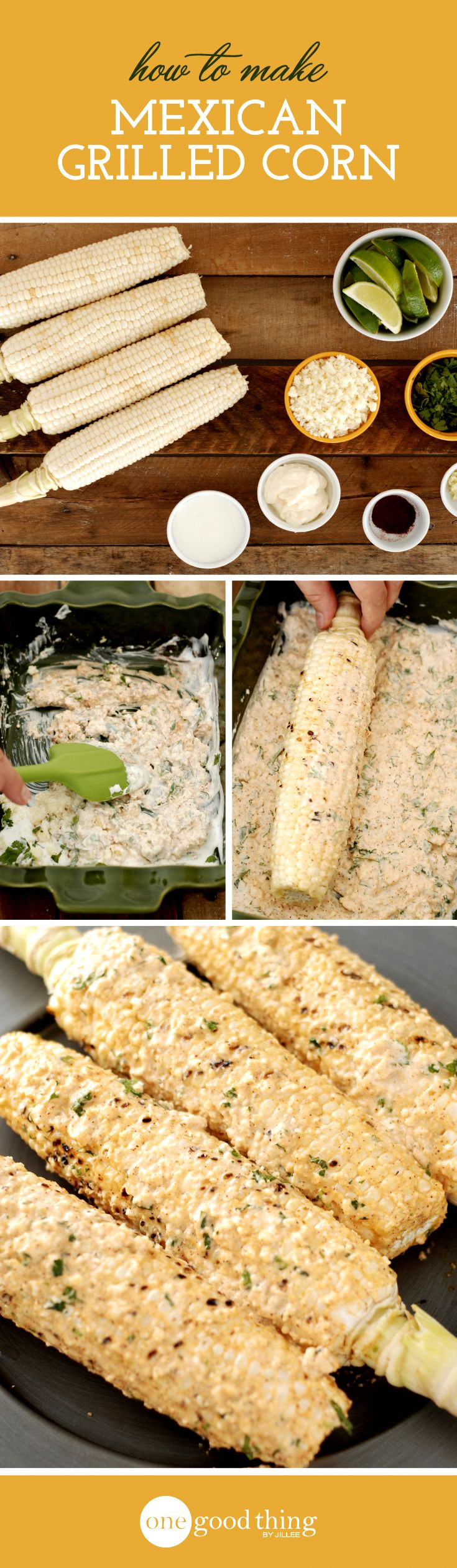 Enjoy corn on the cob in a delicious new way this summer! After trying this recipe for Mexican Grilled Corn you may never go back to plain corn again!