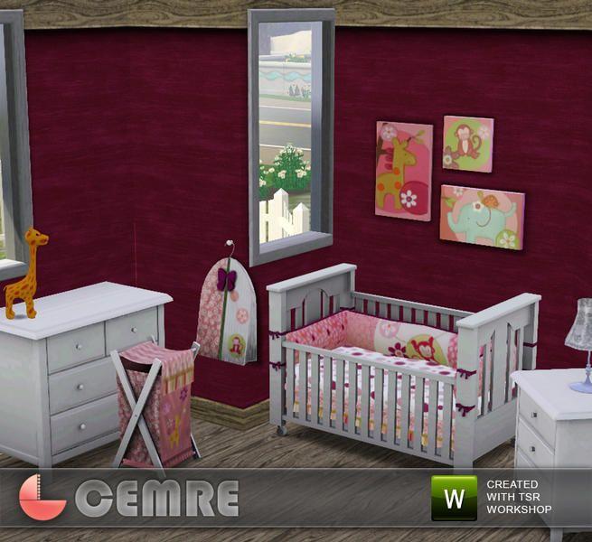 Les 15 meilleures images propos de chambre bambin sims for Sims 3 chambre bebe