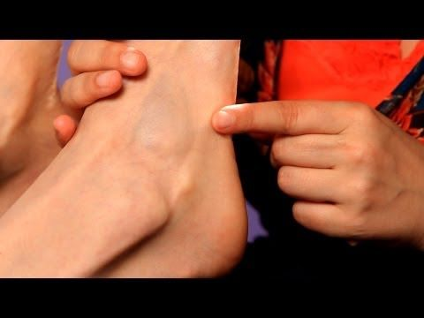 How to Relieve Hip and Knee Pain using Foot Reflexology Techniques