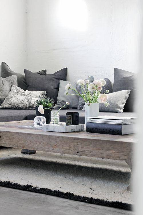 Die besten 17 Bilder zu Livingrooms auf Pinterest Grau, Grauer - wohnzimmer blau wei grau