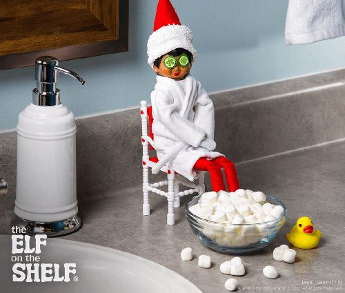 Scout Elf Spa Day | The Elf on the Shelf