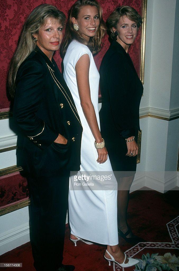 Journalist Deborah Norville, Princess Yasmin Aga Khan and model Niki Taylor attending 'Rita Hayworth Alzheimers Benefit Gala' on September 16, 1992 at the Plaza Hotel in New York City, New York.