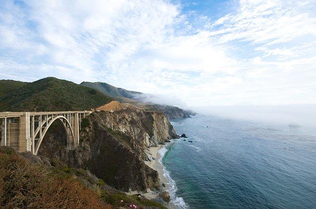 Beautiful highway drive on Highway 1, Pacific Coast Highway. #california #roadtrip