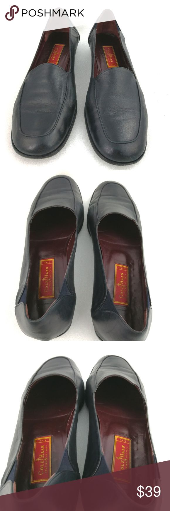 """Women's Leather Loafers 10B Black Shoes Cole Haan For sale is a pair of loafers from Cole Haan. These are from their, """"City"""" line and are made in Italy. The leather is extra soft and supple.   Size: 10B  I will ship your shoes within 24 hours  Thank you Cole Haan Shoes Flats & Loafers"""