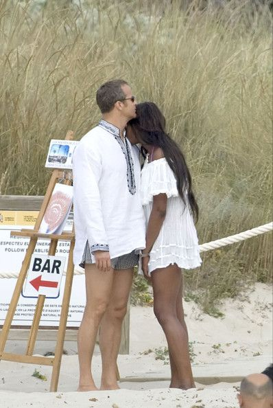 Legs and legs and legs Naomi Campbell & Boyfriend Vacationing In Spain