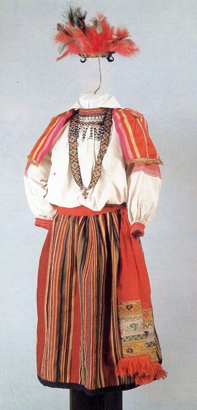 FolkCostume: The 5 types of Russian folk Costume