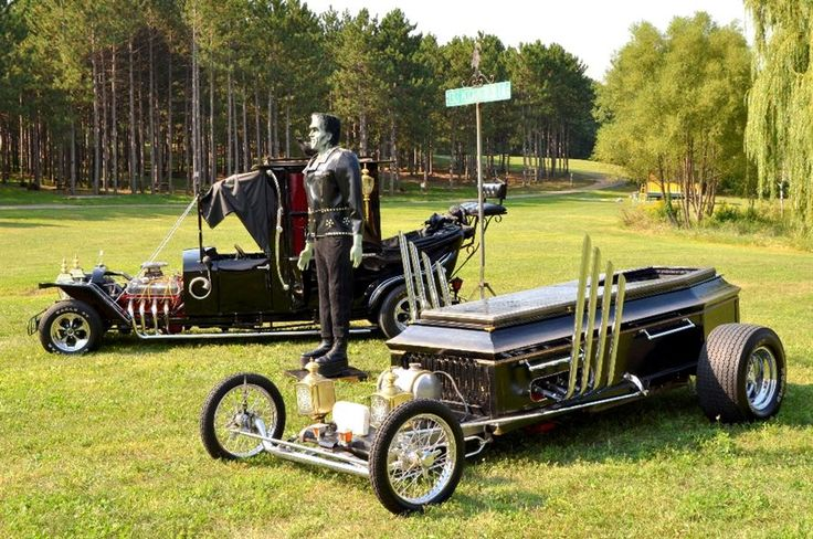 the munster car | Hydride hot rod et corbillard, la munster koach est parfaite pour ...