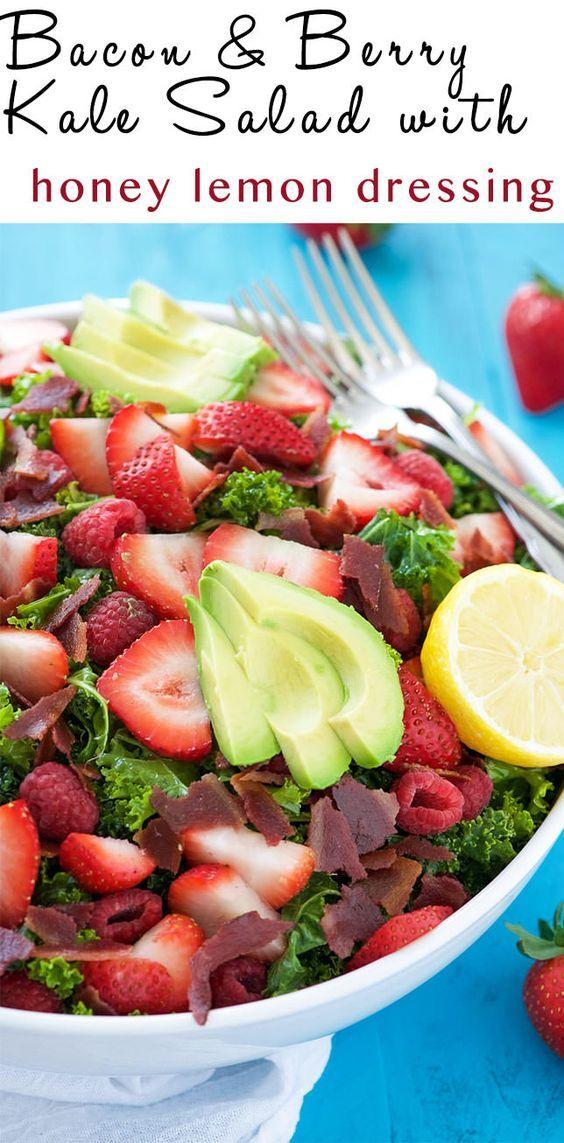Crispy Kale Salad With Lime Dressing Recipe — Dishmaps
