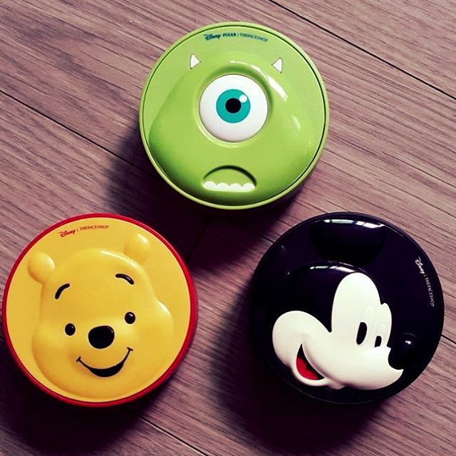 The Faceshop x Disney Collaboration :) Pooh CC cooling cushion Mike Wazowski CC long lasting cushion Mikey BB Power Perfection cushion  http://bbcosmetic.com/search.php?search_query=disney&Search=  #tfaceshop, #disney, #bbcosmetic_official, #cushion, #honey, #longlasting, #cover, #bb #cc #꿀광