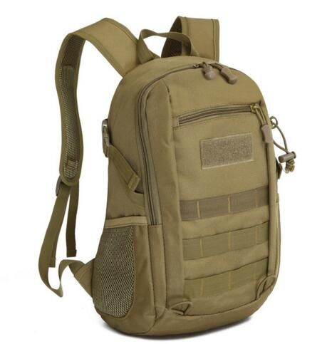 Camping BagsWaterproof Molle Backpack Military Gym School Trekking Ripstop Woodland Tactical Gear Small For Men
