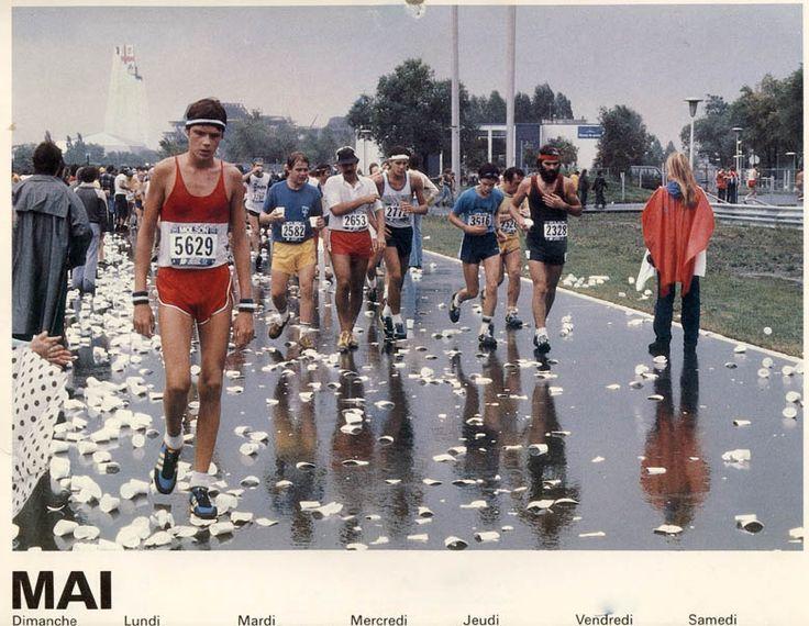 Marathon de Montréal années 80