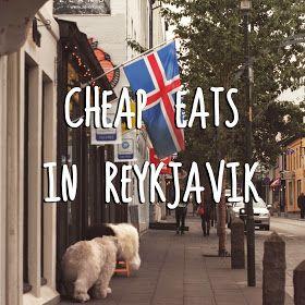 laugavegur street in reykjavik iceland - cheap foood