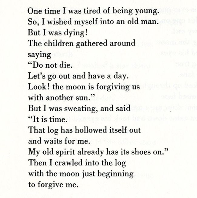 From The Wishing Bone Cycle: Narrative Poems from the Swampy Cree Indians | Gathered and translated by Howard A. Norman, 1976