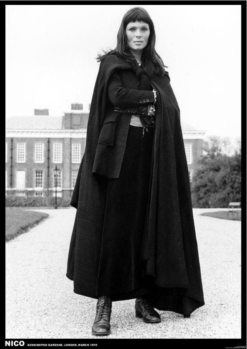 Ahhh...the long coat and those exquisite cheekbones make me long for some sort of Hungarian goolash.