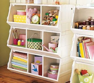 DIY Pottery Barn Kids toy storage...cheap solution!