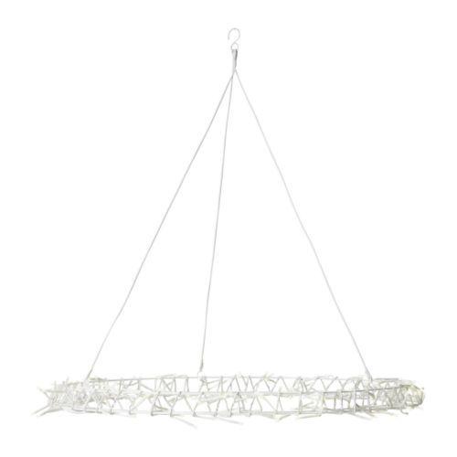 glansa € 29,99: Ikea Lamp, Chandeliers Alternative, Led Chandeliers