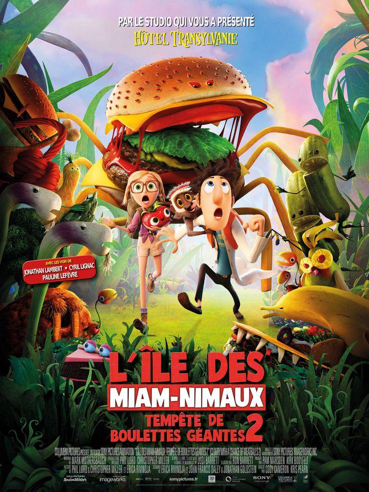 L'île des Miam-Nimaux Tempête de Boulettes Géantes de Cody Cameron et Kris Pearn, 2014