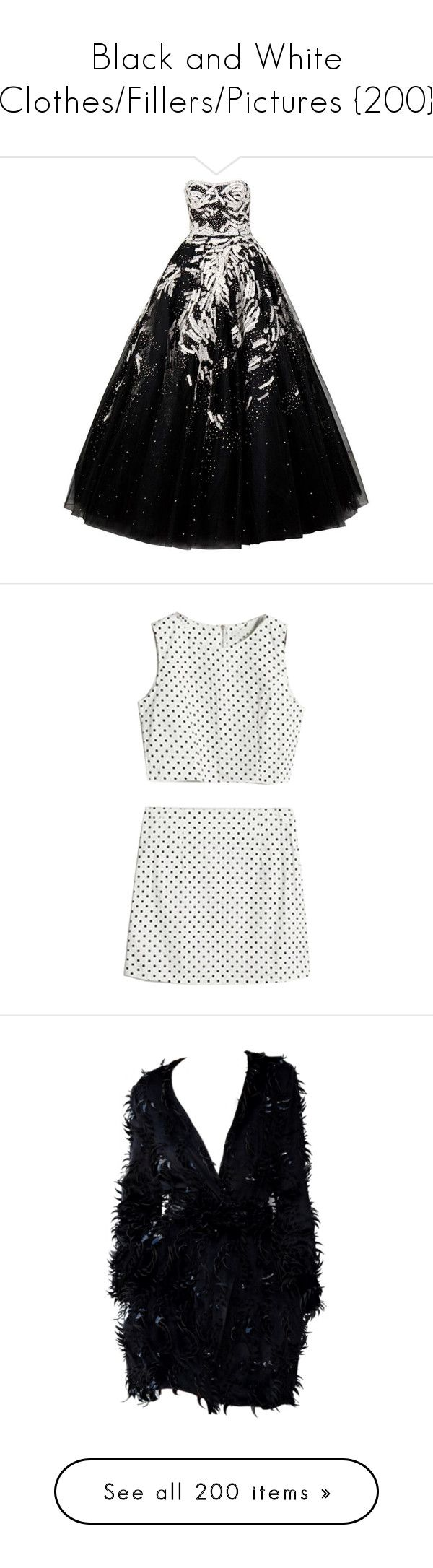 """Black and White Clothes/Fillers/Pictures {200}"" by madslolo ❤ liked on Polyvore featuring dresses, gowns, vestidos, long dresses, women, sequin evening gowns, strapless sequin dress, sequin dress, sequin ball gown and sequin evening dresses"