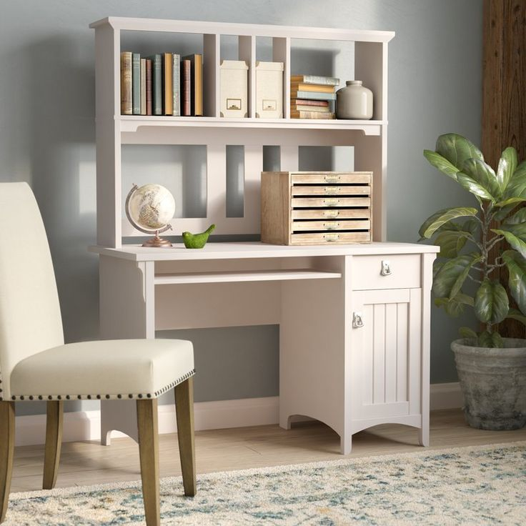Salinas Computer Desk with Hutch 289 best