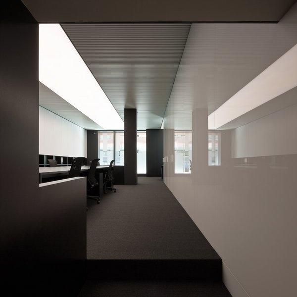 Luxury interior inside the PBS office in Barcelona by Spanish architect Francesc Rife _