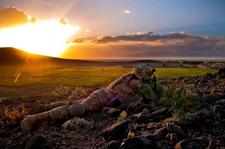 Dawn in Afghanistan