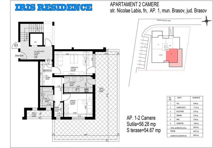 Apartamente 2 camere decomandate zona Tractorul Bloc 2016 , Brasov 948