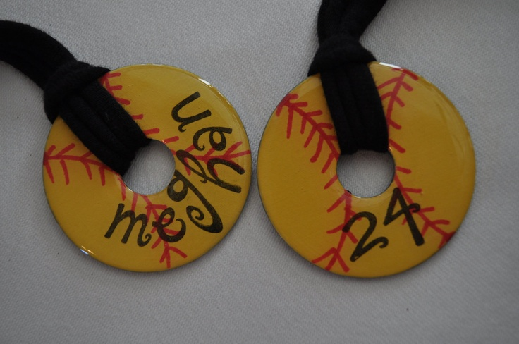 Softball Love: Baseball Softball, Softball Crafts, Softball Gifts, Crafty, Baseball Necklace, Cute Ideas, Softball Baseball, Softball 3, Collier Softball