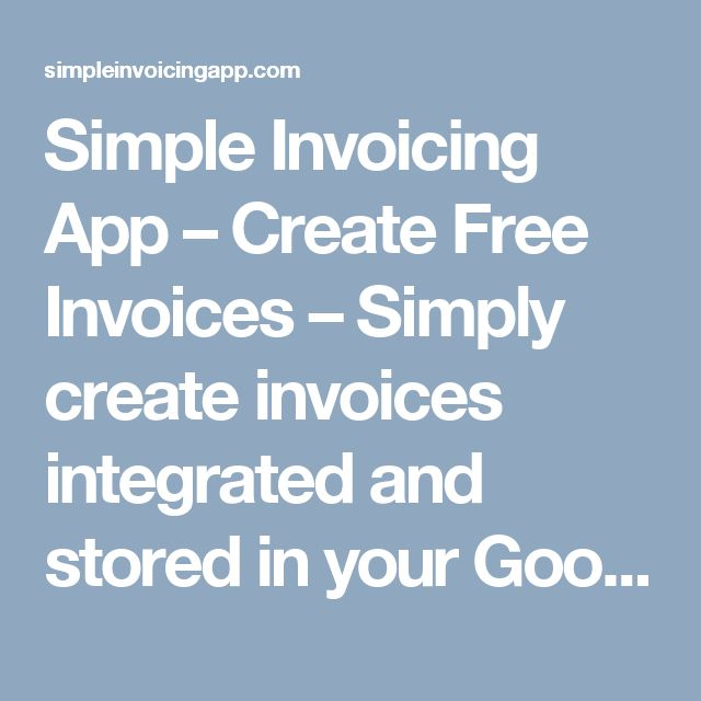 Best 25+ Create invoice ideas on Pinterest Invoice template - create free invoices
