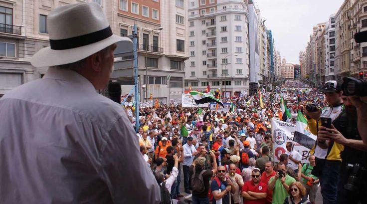 Hiszpański protest