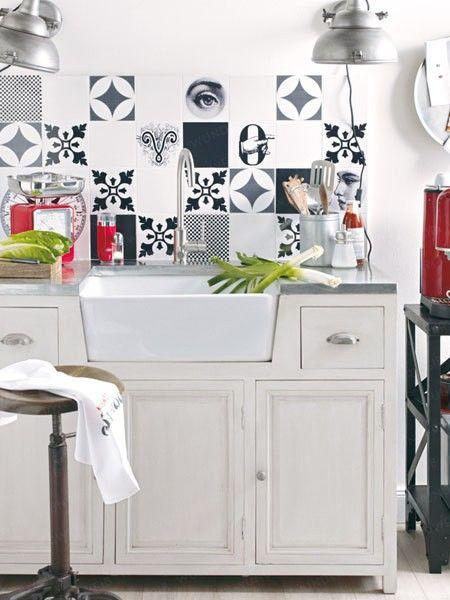 20 besten Fliesen in der Küche Bilder auf Pinterest Fliesen - fliesen oder laminat in der küche