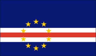 Cape Verde Flag - Download Picture of Blank Cape Verde Flag For Kids to Color