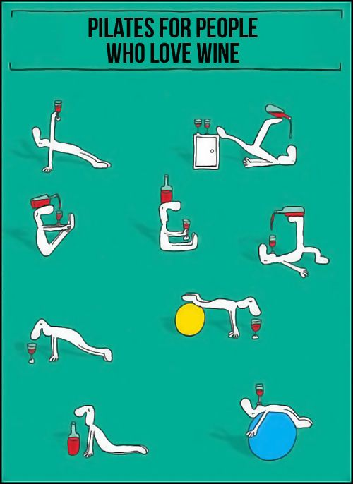 Pilates for Wine Lovers: Laughing, Yoga Fit, Work Outs, Funny, Wine Lovers, Pilates, People, Exerci Routines, Workout