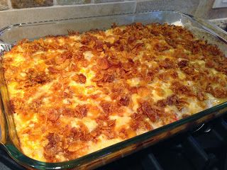 Hash Brown Potato Bake...super easy!