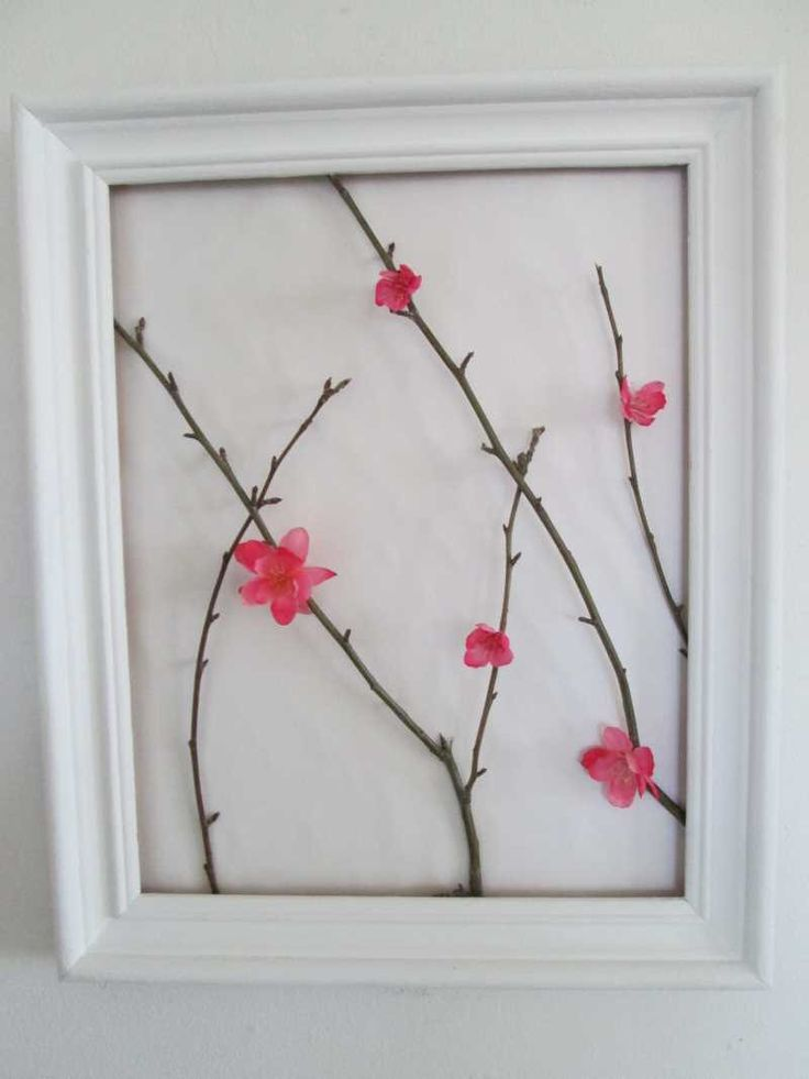 Natural twig art by Bessiesartandmusic on Etsy https://www.etsy.com/listing/183739997/natural-twig-art